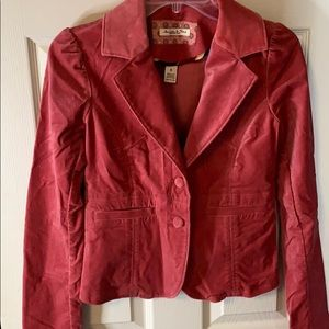 Abercrombie and Fitch suede jacket